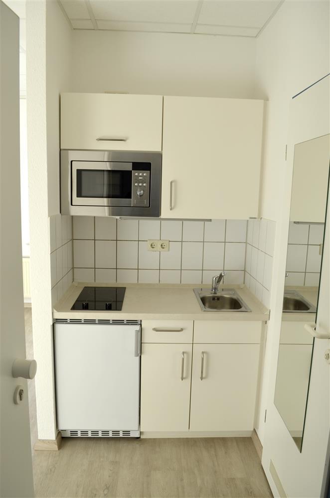 Gemtliche Helle Ein Raum Wohnung Mit Kochnische